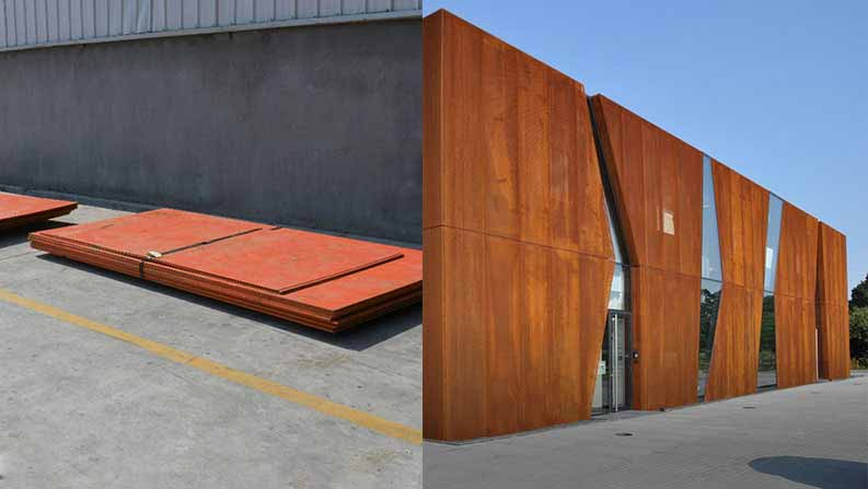 ASTM A242 Type 2 Plates, A242 Type 2 Corten Steel Plates